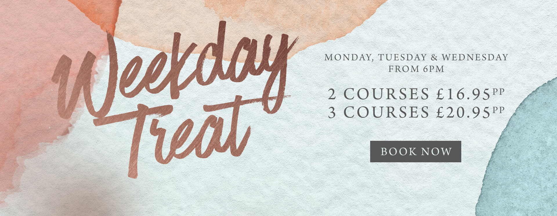 Weekday treat at The Horse & Groom - Book now